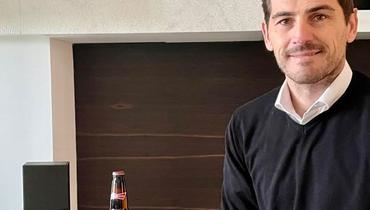 Икер Касильяс получил пиво заголы отМесси, Пике попросил поделиться