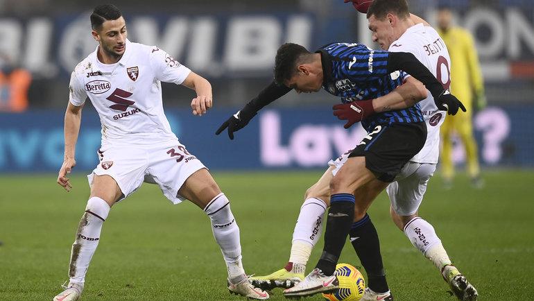 «Аталанта» и «Торино» сыграли вничью. Фото ФК «Торино».