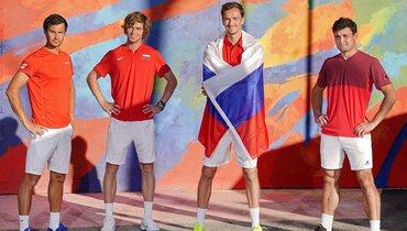 Рублев наневероятном уровне, Медведев напобедной волне. Россия— чемпион ATP Cup