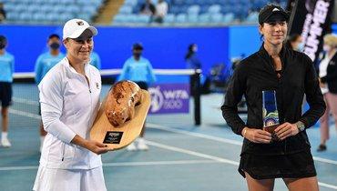 Барти обыграла Мугурусу истала победительницей турнира вМельбурне