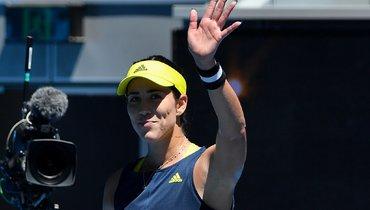 Мугуруса прокомментировала победу над Гаспарян настарте Australian Open