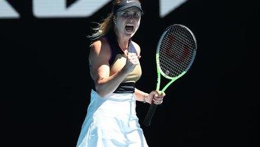 Свитолина, Кенин иКанепи вышли вовторой круг Australian Open