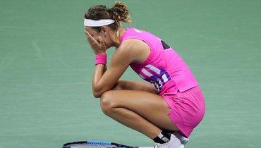 Азаренко чуть незадохнулась вовремя матча. Ранее она отсидела строгий карантин