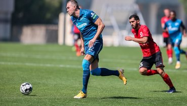 Гол Дзюбы принес «Зениту» победу над сборной Иордании