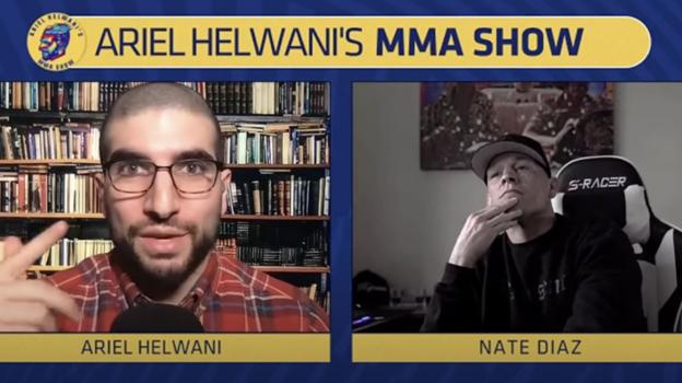 Кадр из интервью Ариэля Хельвани с Нейтом Диасом. Фото YouTube