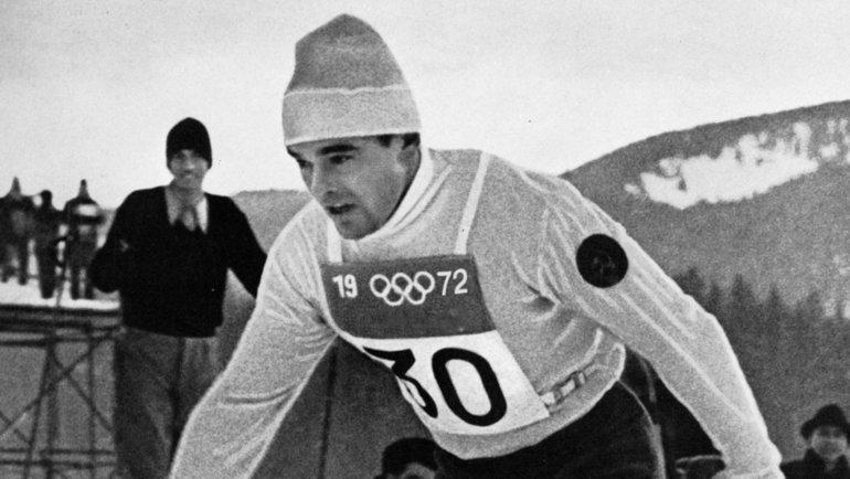 1972 год. Саппоро. Вячеслав Веденин.