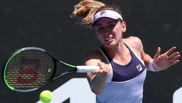 Александрова вышла втретий круг Australian Open, где сыграет сБарти