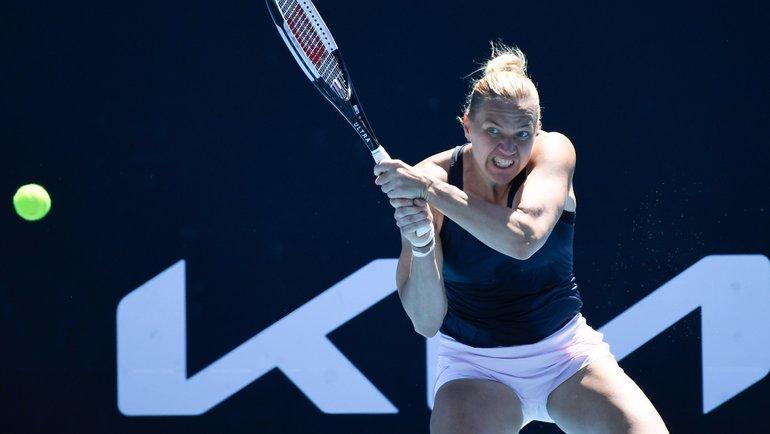 Кайя Канепи. Фото WTA, Twitter