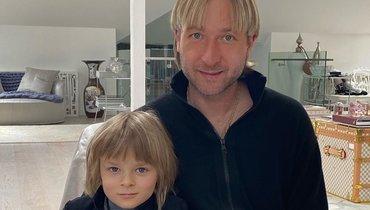 Сын Плющенко стал победителем турнира пофигурному катанию
