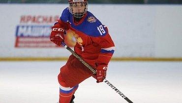 Чибриков вошел втройку самых молодых игроков сборной России вистории