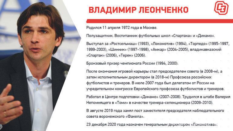 Биография Владимира Леонченко. Фото «СЭ»