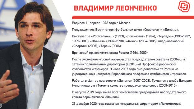 """Биография Владимира Леонченко. Фото """"СЭ"""""""