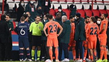 ВРумынии утверждают, что УЕФА необнаружил проявления расизма всловах арбитра наматче «ПСЖ» и «Истанбулом»