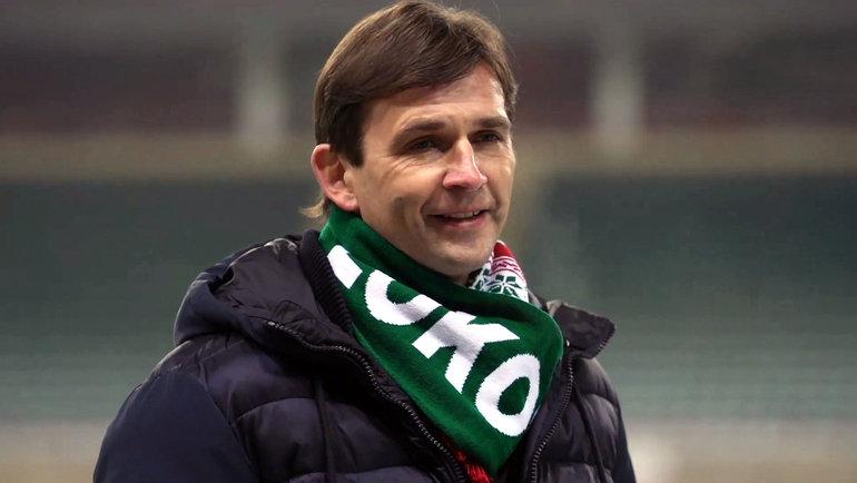 Владимир Леонченко. Фото ФК «Локомотив»