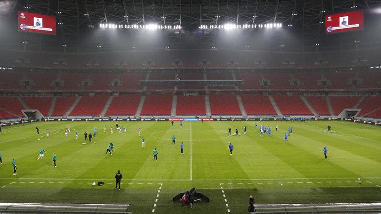 Чемпионат Европы пофутболу 2020 года должен пройти в12 городах. Фото Reuters