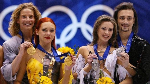 Гвендаль Пейзера, Марина Анисина, Илья Авербух иИрина Лобачева. Фото AFP