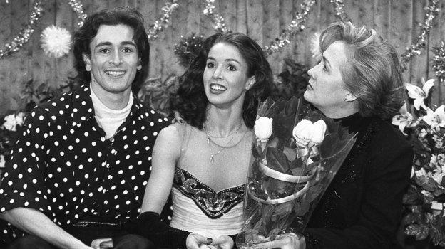 1996 год. Илья Авербух, Ирина Лобачева, Наталья Линичук. Фото Дмитрий Солнцев