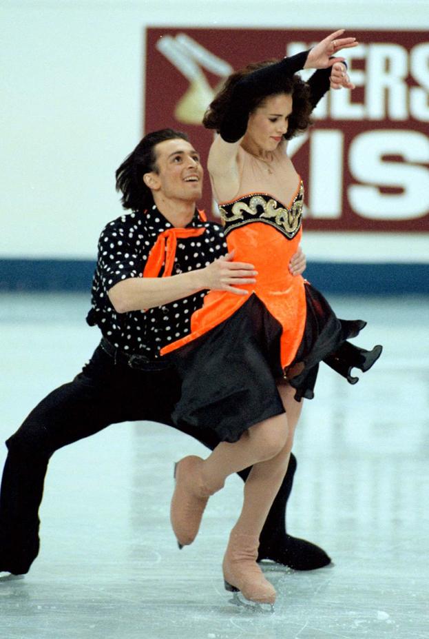Илья Авербух и Ирина Лобачева. Фото Reuters
