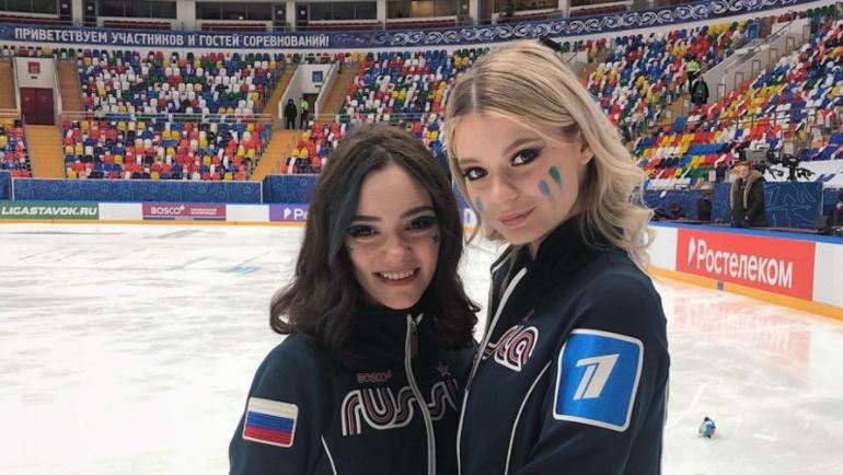 Евгения Медведева иАнастасия Скопцова. Фото Instagram
