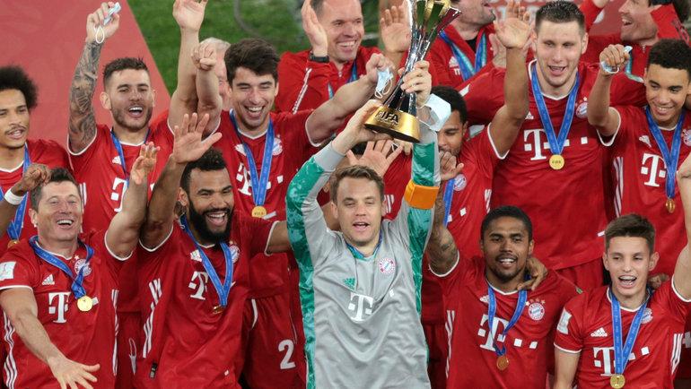 «Бавария» выиграла клубный чемпионат мира. Фото Reuters