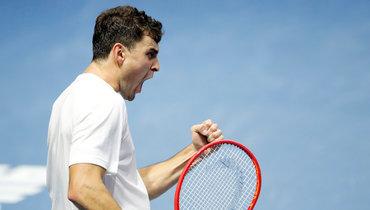 Карацев обыграл Шварцмана втрех сетах ивышел вчетвертый круг Australian Open