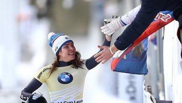 Российская скелетонистка Никитина завоевала бронзовую медаль начемпионате мира