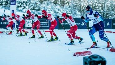 Россияне без медалей втрех гонках молодежного чемпионата мира.