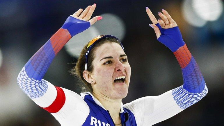 Ангелина Голикова. Фото AFP