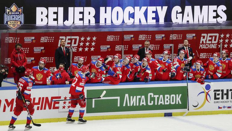 Сборная России сыграет соШвецией наЕвротуре. Фото Reuters