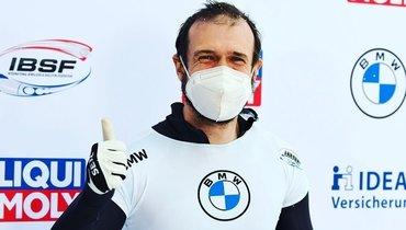 Скелетонисты Никитина иТретьяков завоевали бронзу начемпионате мира