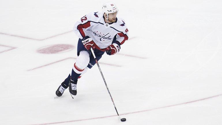 Форвард «Вашингтона» Евгений Кузнецов. Фото USA Today Sports
