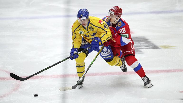 13февраля. Мальме. Швеция— Россия. Фото Reuters