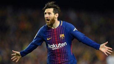 Месси сравнялся сХави поколичеству матчей за «Барселону» вчемпионате Испании
