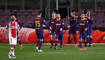 «Барселона» разгромила «Алавес», Месси сделал дубль