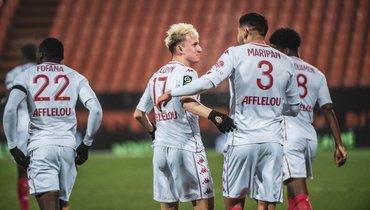 «Монако»— «Лорьян»: прямая видеотрансляция матча чемпионата Франции