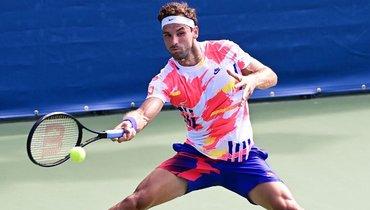 Димитров сыграет сКарацевым вчетвертьфинале Australian Open