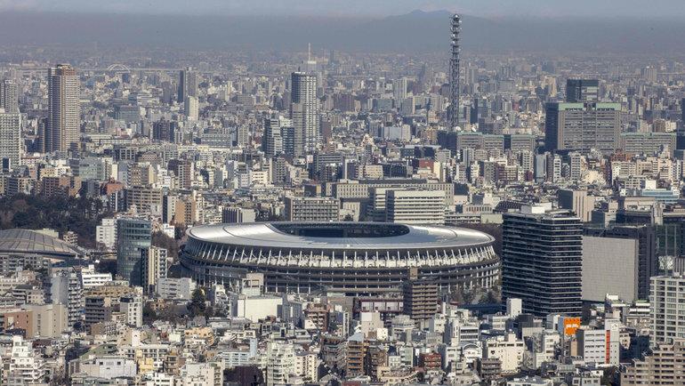 14февраля . Токио. Национальный стадион. Фото AFP