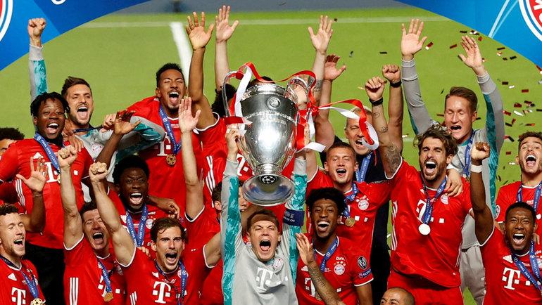 Главный фаворит Лиги чемпионов— «Бавария». Фото Reuters