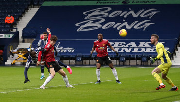 «Манчестер Юнайтед» потерял очки вматче с «Вест Бромвичем»
