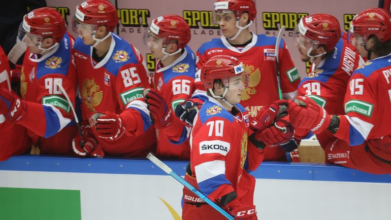 Сборная России похоккею. Фото AFP