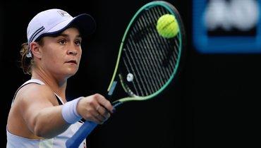 Барти стала последней четвертьфиналисткой  Australian Open