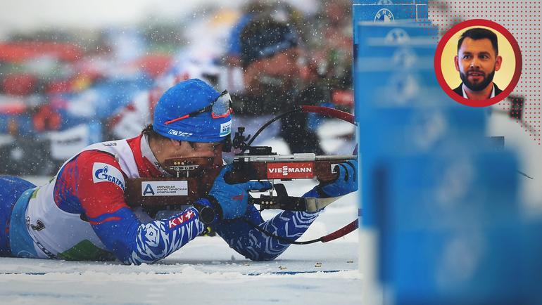 Эдуард Латыпов наогневом рубеже. Фото AFP