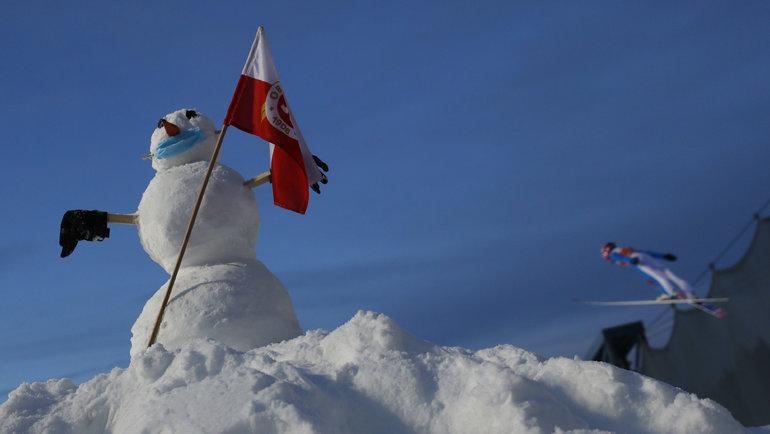 Зима вОберстдорфе. Фото Reuters