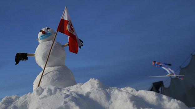 Зима в Оберстдорфе. Фото Reuters