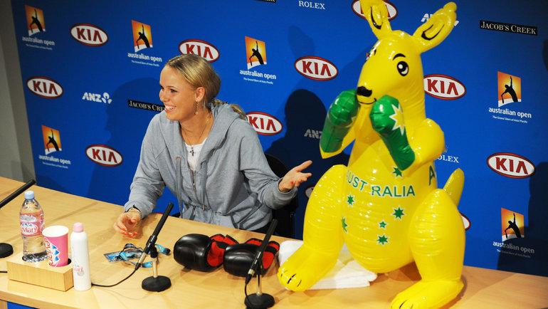 Каролин Возняцки. Фото AFP