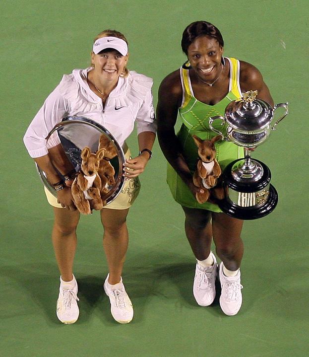 Мария Шарапова и Серена Уильямс. Фото Reuters
