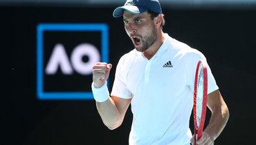 Карацев обыграл Димитрова в1/4 финала Australian Open. Онлайн