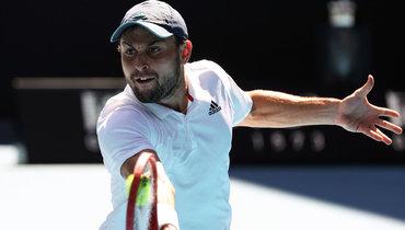 Карацев вчетырех сетах обыграл Димитрова ивышел вполуфинал Australian Open