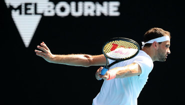 Димитров признал преимущество Карацева вчетвертьфинале Australian Open