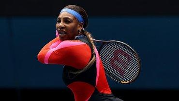 Серена Уильямс вышла вполуфинал Australian Open